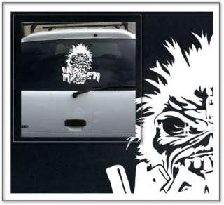 Iron Maiden LG Wall Car Truck Vinyl Decal Skin Sticker