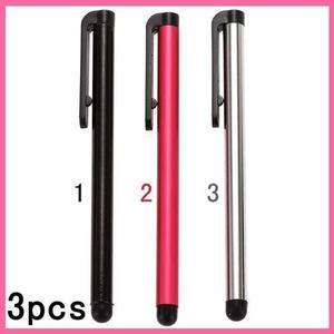 3pcs Stylus Touch Pen For iPod Touch iPad iPhone 3GS 4 4G