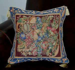 FRUITS DECORATIVE Tapestry cushion/pillow cover 17X17