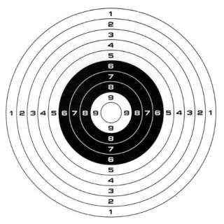 100 PACK PAPER TARGETS TRAPS BB AND PELLET PAPER TARGET SHOOTING