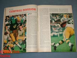 1968 Sports Illustrated Don Meredith Dallas Cowboys Cover Pro Football