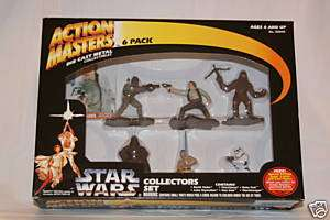 1994 Kenner Star Wars Action Masters Die Cast 6 Pack