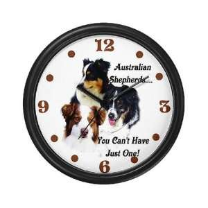 Aussie Group Pets Wall Clock by