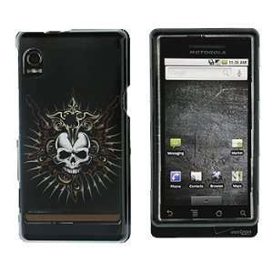 Black Viking Skull Snap on Hard Skin Faceplate Cover Case