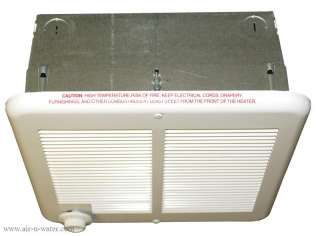 The Q Mark CRA2224T2 electric wall heater does its job without being