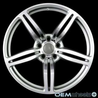 MACHINED M6 STYLE WHEELS FITS BMW E60 525 528 530 535 545 550 M5 RIMS