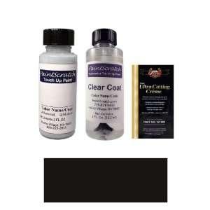 Oz. Black Aero (Wheel) Paint Bottle Kit for 2011 Chevrolet Aveo (W9M