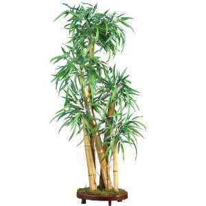Looking 42 Chinese Style Bamboo Silk Tree Green Colors   Silk Tree
