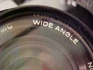 Honeywell Pentax Spotmatic SP II 35mm Camera w/Case/ Flash & Takumar