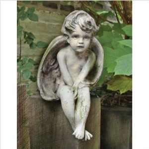 OrlandiStatuary FS91A Angels Small Meditation Cherub Statue