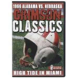 NCAA Alabama Crimson Tide 1966 Orange Bowl Crimson