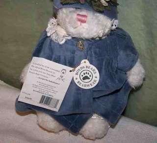 Boyds Bear 2000 retired JENNA D LAPINNE bunny bear 8