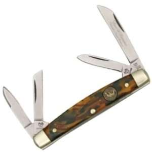Hen & Rooster Knives 314BC Small Congress Pocket Knife with Beeswax