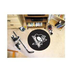 FANMATS NHL Pittsburgh Penguins Round 26   Hockey Puck