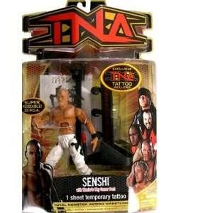 TNA Wrestling Series 8 Action Figure Senshi [White Pants