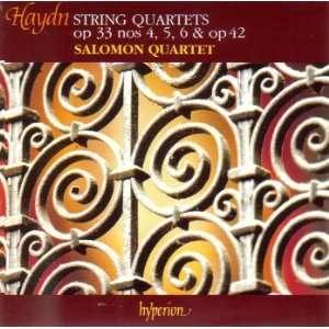 Franz Joseph Haydn String Quartets, Op. 33, Nos. 4 6