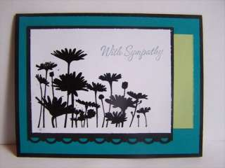 Stampin Up handmade greeting card SYMPATHY PYLOT