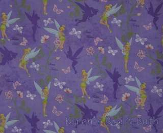 Tinkerbell Fairy Girls Lilac Butterfly Curtain Valance