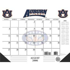 Auburn University Tigers NCAA 2006 2007 Academic/School