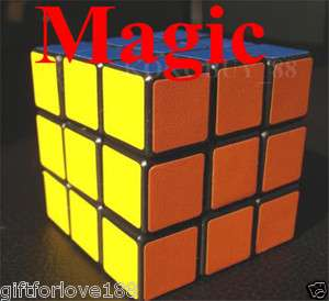 H1610 RUBIKS CUBE MAGIC PUZZLE Toy 3 X 3 X 3 Gift