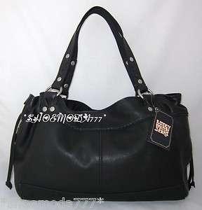 199 Lucky Brand Fugitive Leather Satchel Bag Purse Tote Handbag Sac