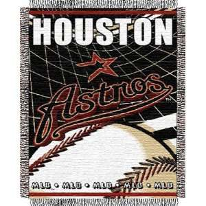 Houston Astros Major League Baseball Woven Jacquard Throw