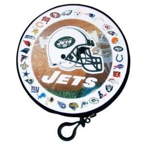 New York Jets NFL Team Logos CD / DVD Case Holder