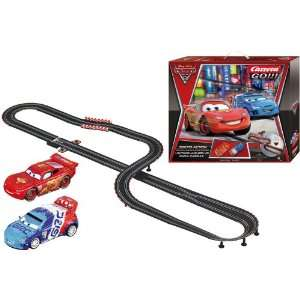 Carrera Go Disney Cars 2   Tokyo Action Race Set Toys & Games