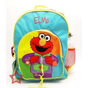 Sesame Street Elmo Dress Me Up Backpack Large: Toys & Games