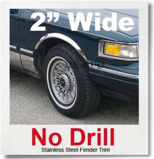 fitment 95 97 lincoln town car material 22 gauge 304