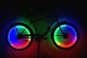 Rimfire LED Bicycle Wheel Safety Lights, Spoke, Rim 804879042532