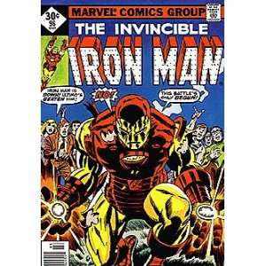 Invincible Iron Man (1968 series) #96 WHITMAN Marvel Books