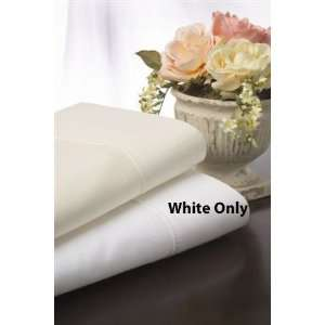 California King 300TC Sheets and Pillow Set in White Color   Southern