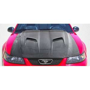 1999 2004 Ford Mustang Carbon Creations Mach 2 Hood
