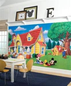 Mickey Mouse & Friends XL Wall Mural Art Decal Decor