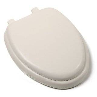 GINSEY CLASSIQUE ELONGATED CUSHION SOFT PADDED TOILET SEAT