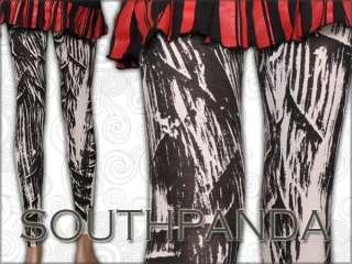 SL236 Fashion Gothic Punk Rock Tights Pantyhose Pants