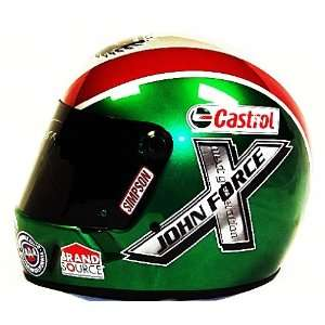 2011 John Force Castrol Full Size Simpson Replica Helmet SIGNED w