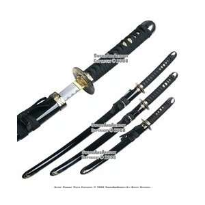 Japanese Orchid Bushido Last Samurai Katana Sword Set