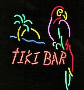 USA MADE Tiki Bar Parrot Neon Beer Bar Light Margaritaville Furniture