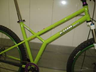 Research EWR Original Woods Bike OWB 29er XL Used twice Lime Green