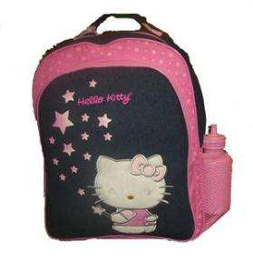 Hello Kitty backpack Large School bag+Free Sports Bottl