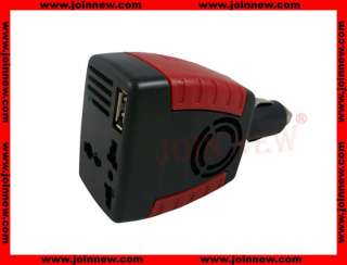 MAX 200W Car Power Inverter 12V DC To 110V/220V AC 150W +USB port