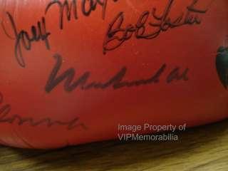Muhammad Ali & Madonna Signed Boxing Glove JSA COA Rare