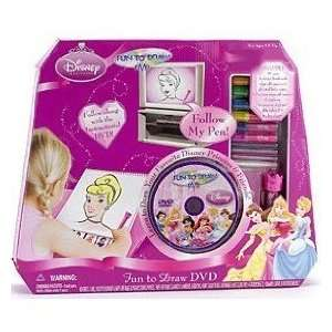 Disney Princess Fun to Draw DVD Toys & Games