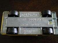 Majorette BANK SECURITY TRUCK Die Cast ARMORED CAR 1/57