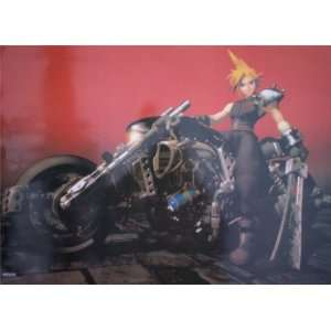 Final Fantasy VII Cloud Daytona Poster HC376 Home