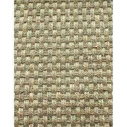 Handmade Eco Natural Fiber Red Cotton Border Seagrass Rug (8 x 10)