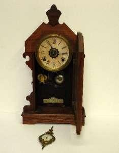 Antique ANSONIA MANTLE CLOCK Rare & Hard to Find AUSTRALIA Design