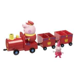 Peppa Pig Princess Peppas Royal Train Toy Toys & Games